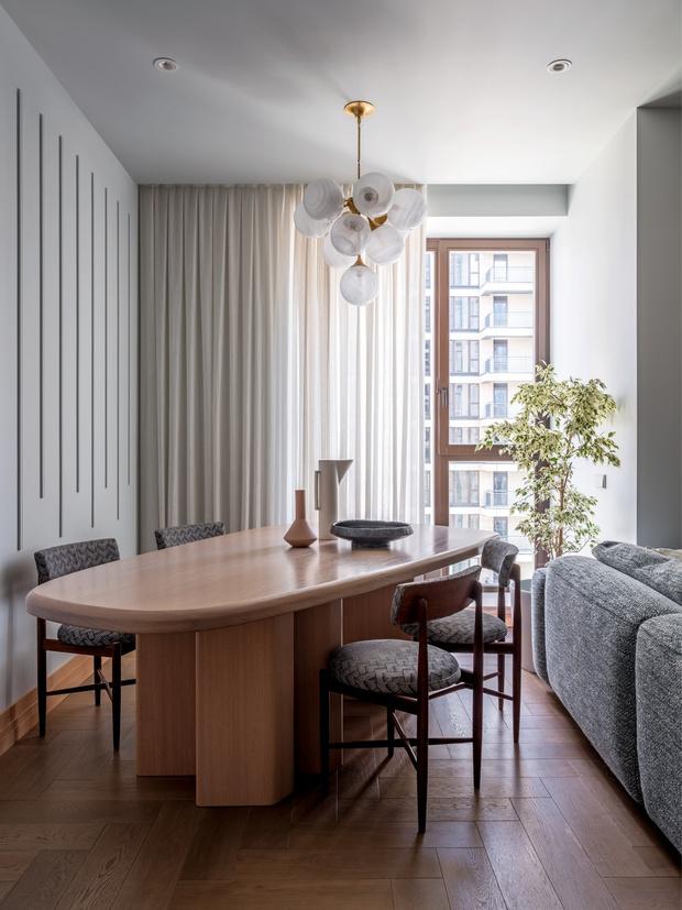 Воздушные замки: светлая квартира в новом доме на Пресне (фото 4)