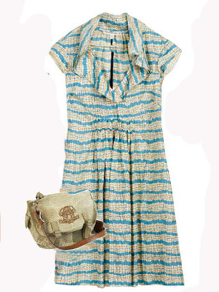 Платье Twenty 8 Twelve, сумка Ralph Lauren
