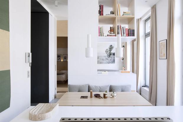 Минималистская квартира 47  м²  в Париже (фото 8)