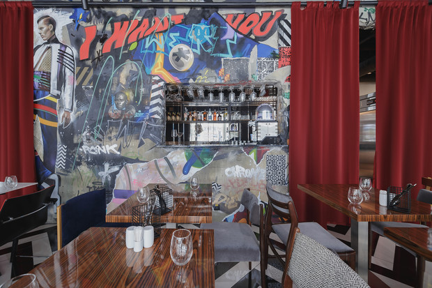 Ресторан «Кастинг» в кинотеатре «Октябрь» от студии MAST (фото 9)