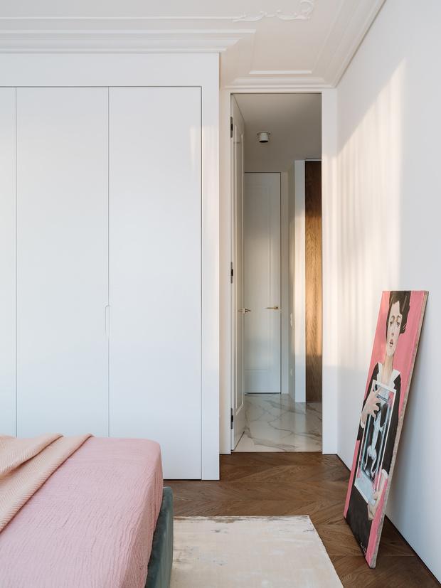 Балтийская неоклассика: квартира в Санкт-Петербурге 98 м² (фото 18)