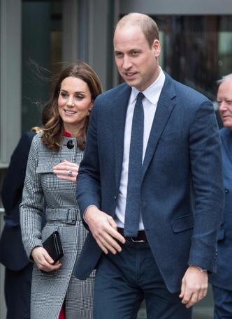 Кейт Миддлтон и принц Уильям в Манчестере (фото 1)