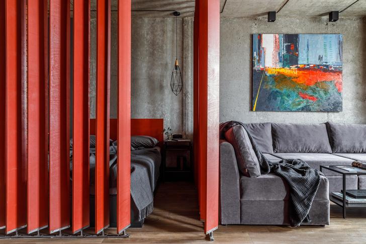 Яркая студия 43 м² в Краснодаре (фото 14)
