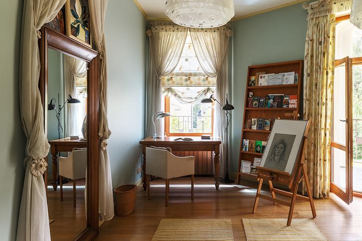 Семейное гнездо: дачный дом в Подмосковье фото [1]
