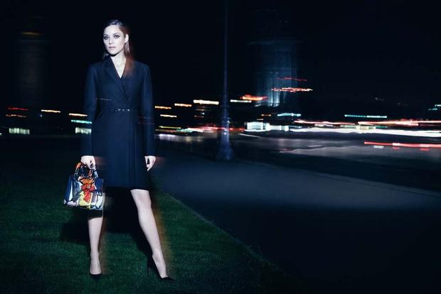 Новая рекламная кампания Lady Dior