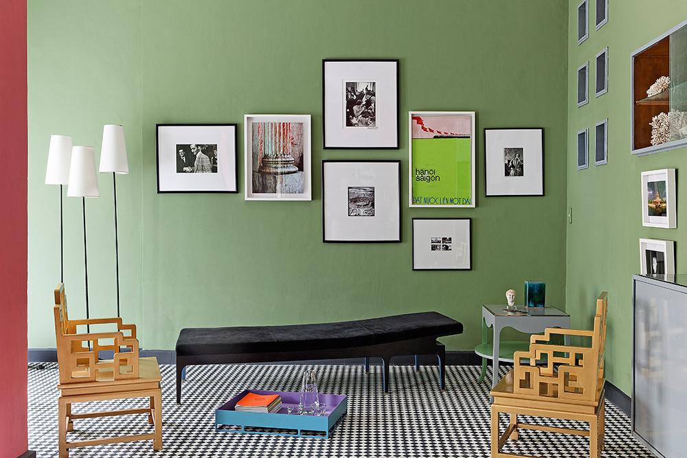 зеленые стены (галерея 0, фото 9)