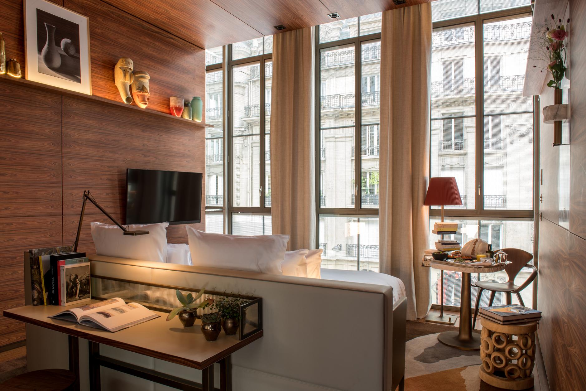 Brach: новый отель Филиппа Старка с видом на Эйфелеву башню (галерея 5, фото 5)