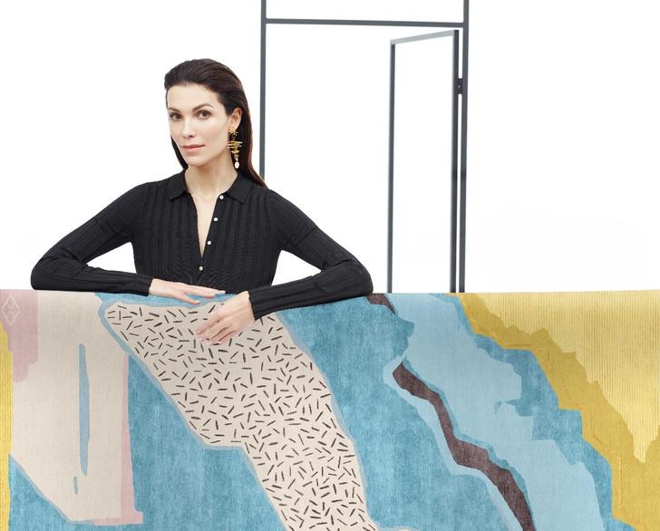 Авангард, лестницы и море: ковры от русских дизайнеров (фото 1)