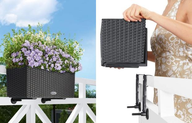 Компактная мебель и аксессуары для небольшого балкона (фото 14)