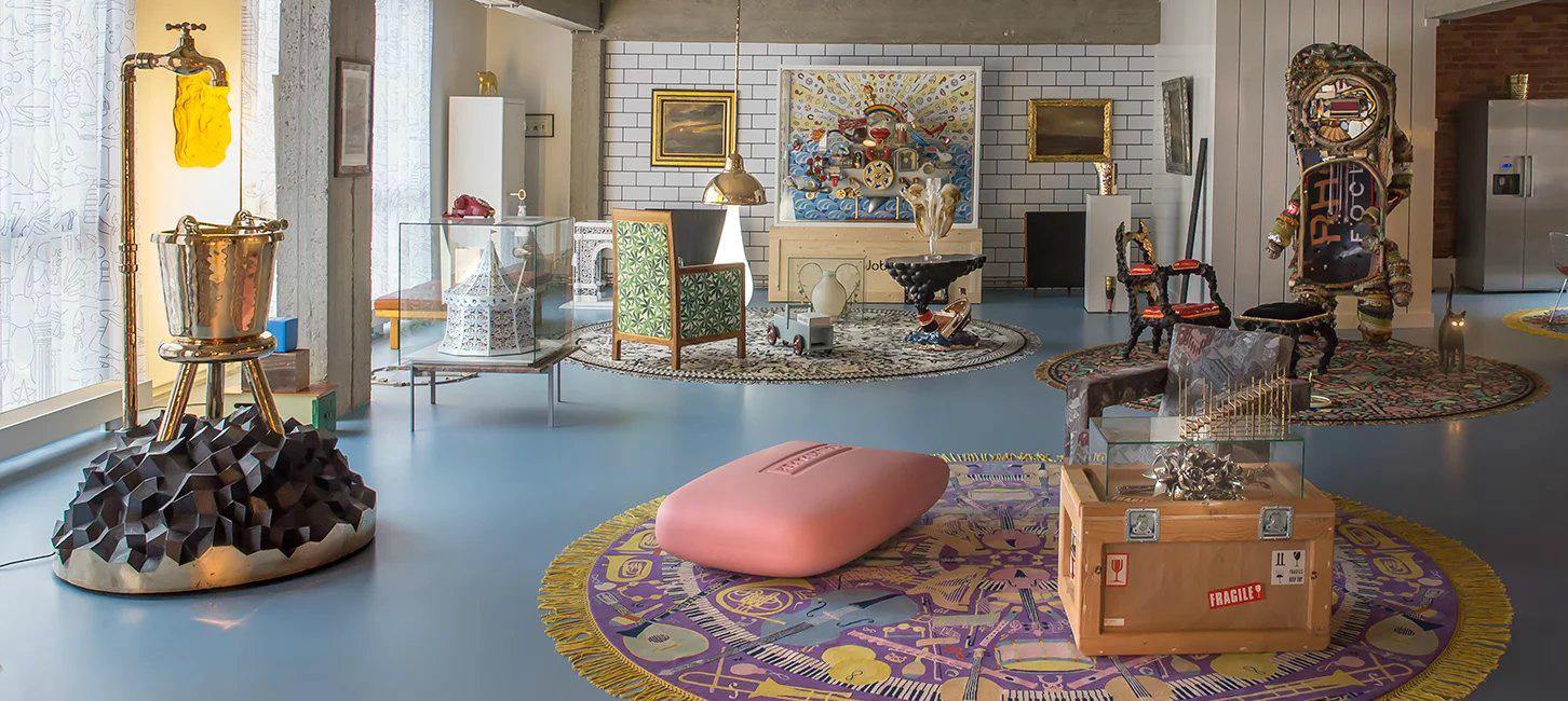 Studio Job обновила интерьеры своего офиса в Антверпене (галерея 4, фото 2)