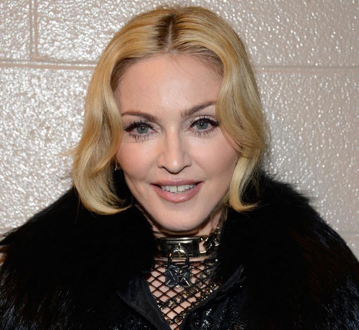 Мадонна с макияжем