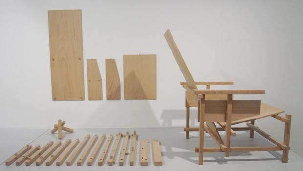 Культовый объект: 100 лет креслу Red Blue Геррита Ритвельда (фото 3)