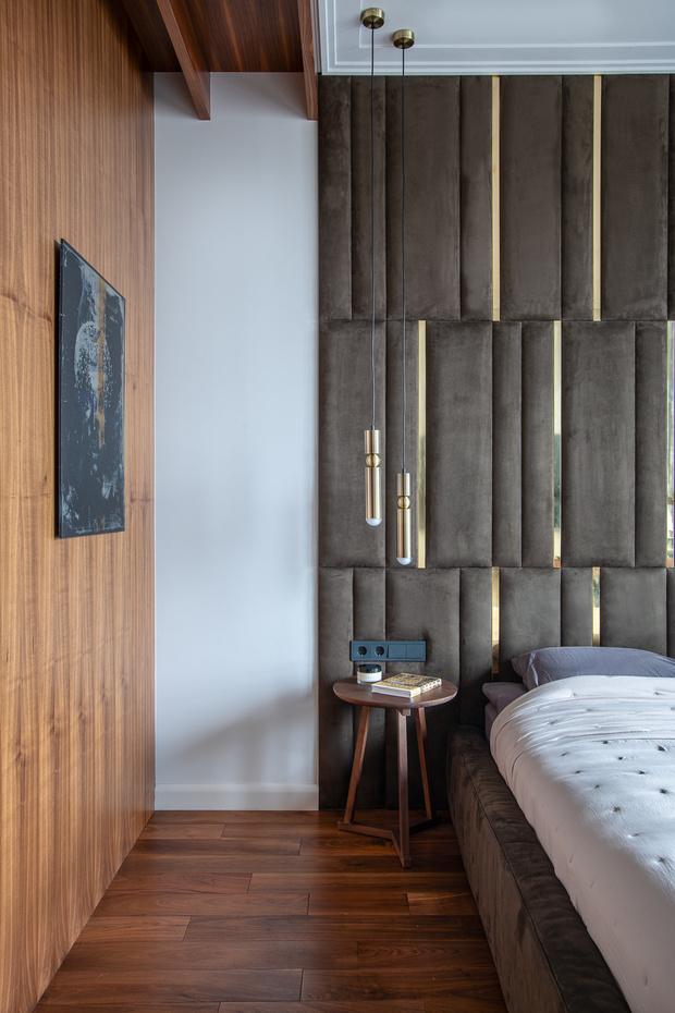 Квартира 80 м² в оттенках натурального дерева и латуни (фото 16)