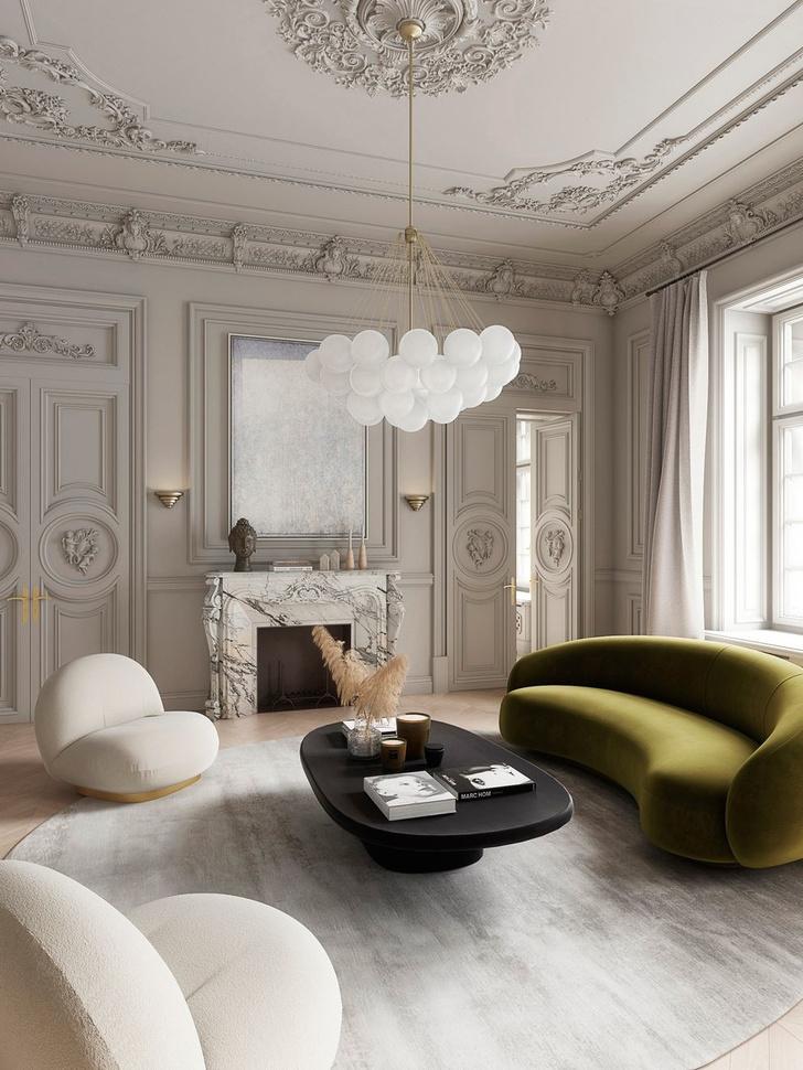 Современная классика: квартира 182 м² в Милане (фото 2)