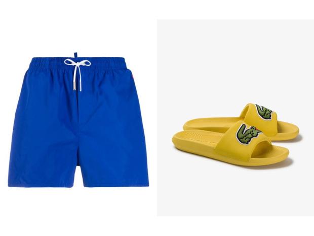 Самое летнее сочетание: шорты + слайдеры (фото 14)