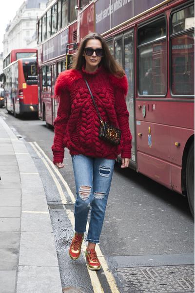 С чем носить джинсы осенью фото | галерея [2] фото [5]