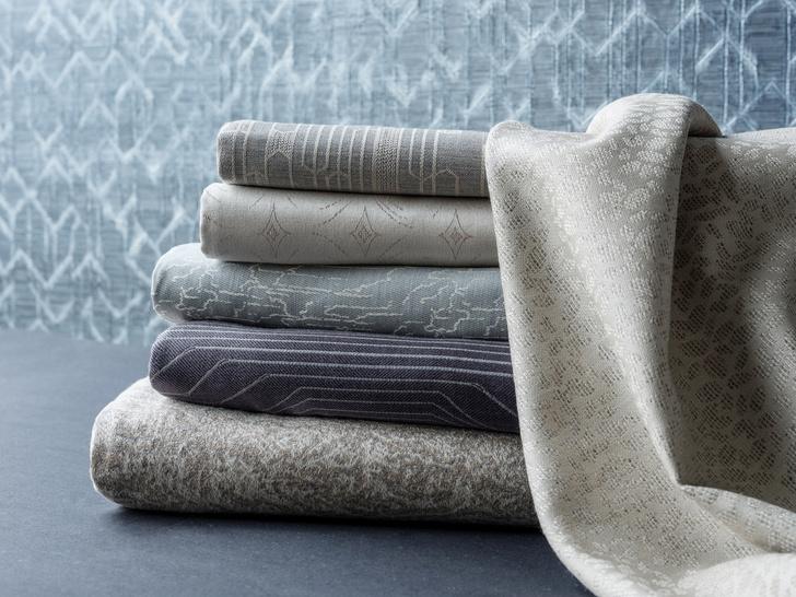 Caledonia: коллекция текстиля и обоев Олега Клода и Анны Агаповой (фото 0)