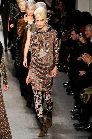 Показы мод Jean Paul Gaultier Осень-зима 2011-2012 | Подиум на ELLE - Подиум - фото 2143