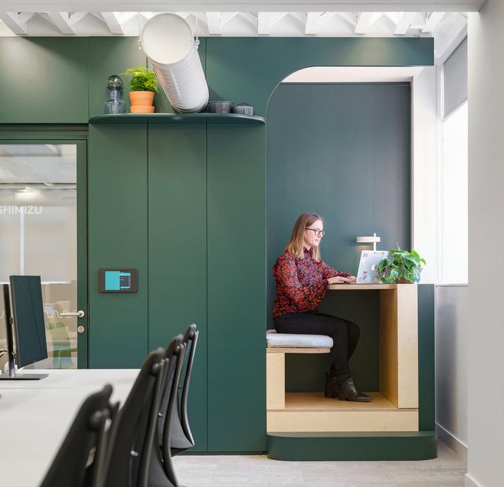 Новый офис Airbnb в Лондоне (фото 10)