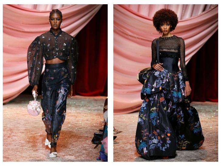 Побег из Самарканда: показ Ulyana Sergeenko Couture в Париже (фото 8)