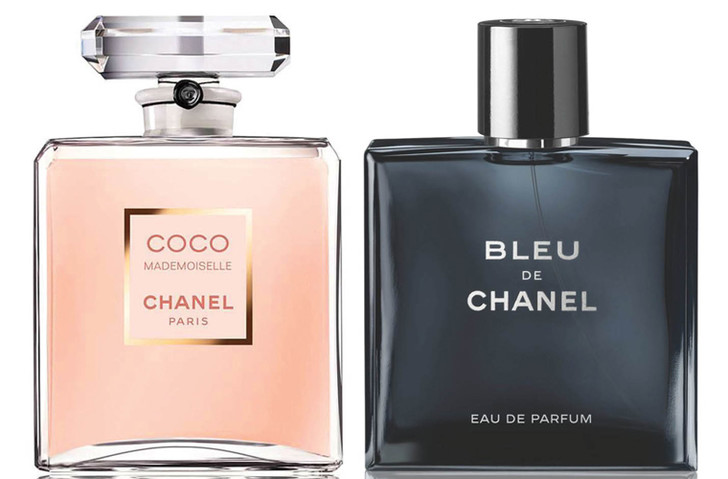 Chanel Coco Mademoiselle и Bleu De Chanel