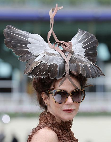 Королевские скачки в Аскоте: парад шляп | галерея [1] фото [1]