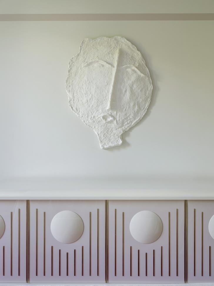 Белый стих: квартира в Москве по проекту Лейлы Улуханли (фото 16)
