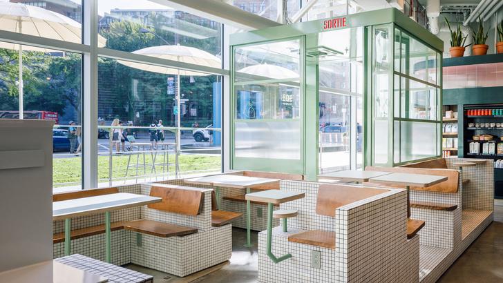 Маленькое дизайнерское кафе Melk в Монреале (фото 7)