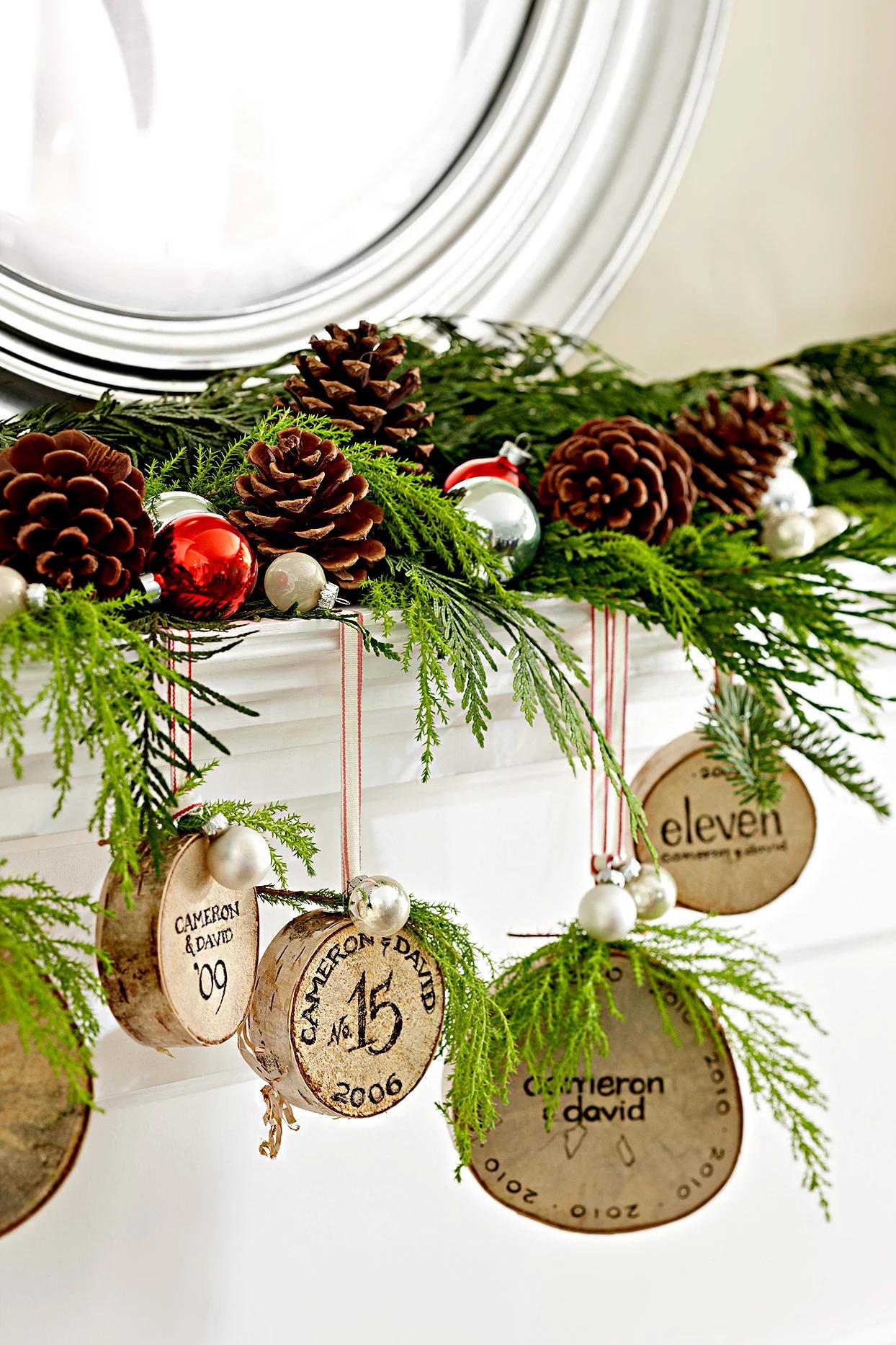 Рождественский декор из шишек: 20 идей и примеров (галерея 0, фото 16)