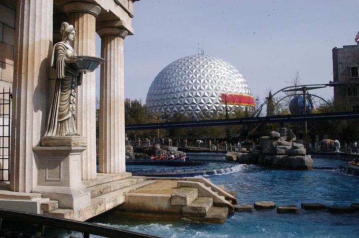 Европа-парк, Германия самые известные парки развлечений