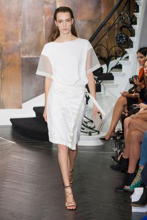 Показы мод Amanda Wakeley Весна-лето 2015 | Подиум на ELLE - Подиум - фото 4107