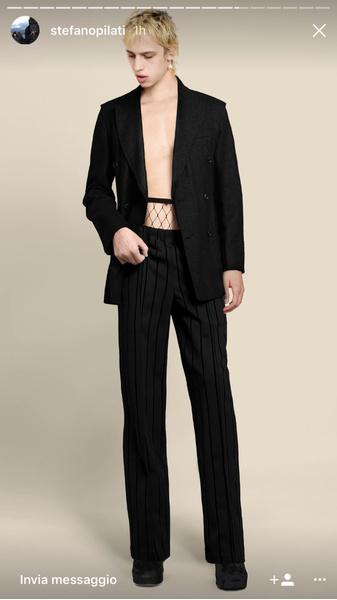 Бывший креативный директор Yves Saint Laurent запускает свой бренд одежды | галерея [1] фото [1]