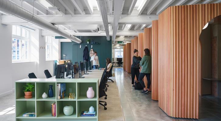 Новый офис Airbnb в Лондоне (фото 2)