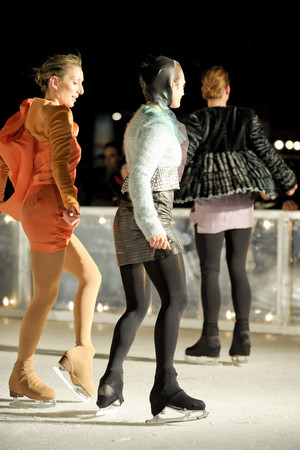 Показ Elise Overland коллекции сезона Осень-зима 2011-2012 года prêt-à-porter - www.elle.ru - Подиум - фото 226780