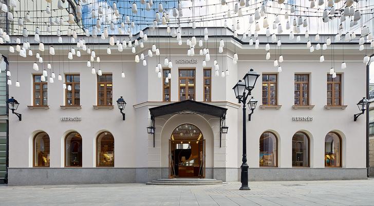 Смена декораций: московский бутик  Hermès (фото 12)