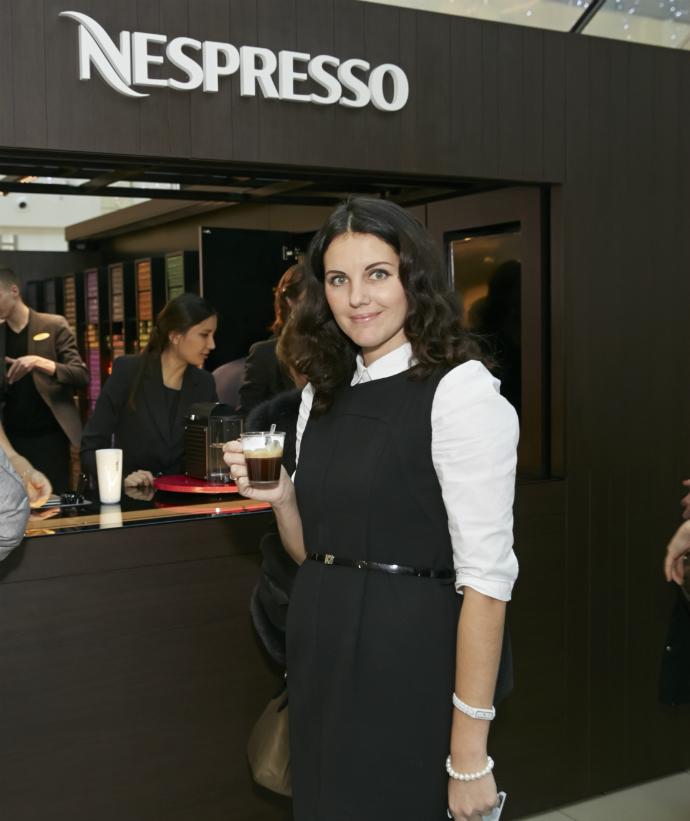 Кофе-пауза: в «Метрополисе» открылся первый Pop-Up бутик Nespresso