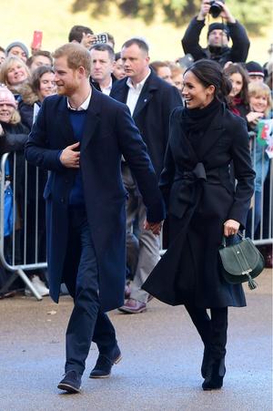 Новый выход принц Гарри и Меган Маркл (фото 2)