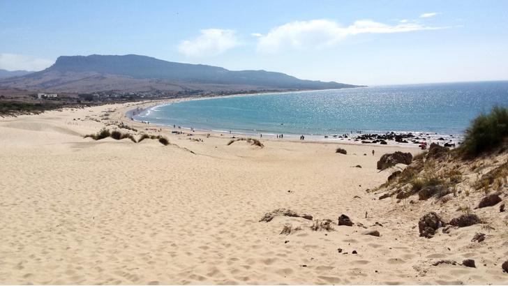 10. Playa de Bolonia, Тарифа, Испания