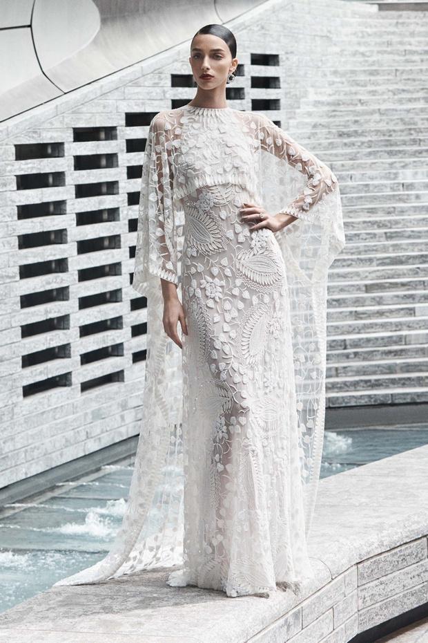 16 платьев из новой свадебной коллекции  Naeem Khan (фото 7)