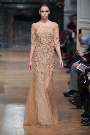 Показ Tony Ward коллекции сезона Весна-лето 2014 года haute couture - www.elle.ru - Подиум - фото 574400