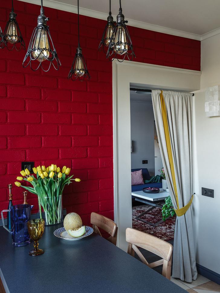 Интерьер трехкомнатной квартиры на Шереметьевской фото [11]