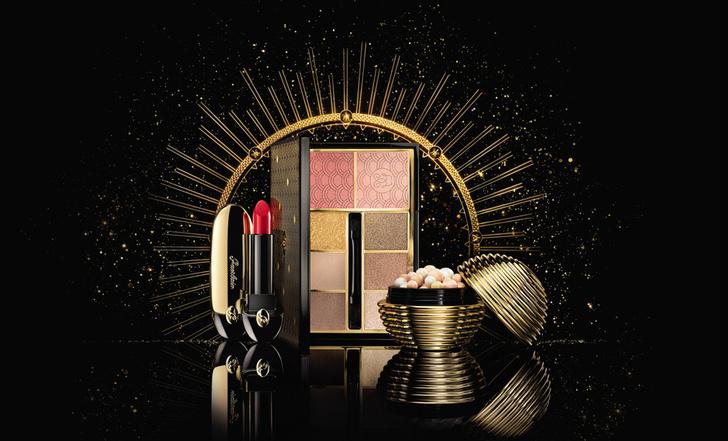 Все на бал: рождественская коллекция макияжа Guerlain Gold Ball фото [3]