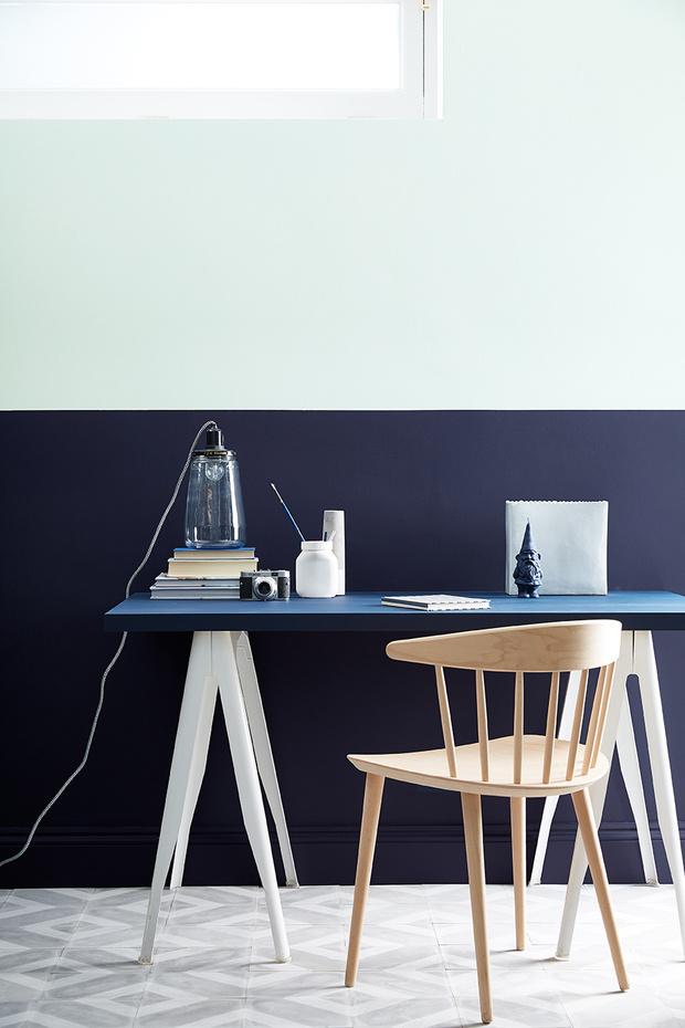Красим стены: 10 неочевидных идей для маленьких квартир (фото 21)