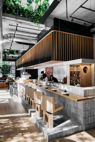 Стильный суши-бар в Монреале (фото 2.2)