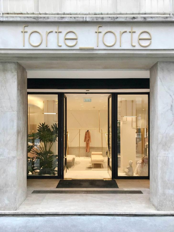 Нежный бутик Forte Forte в Париже (фото 9)