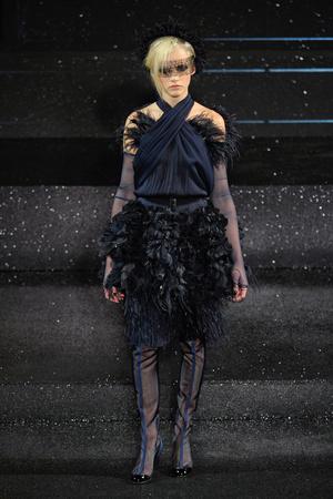 Показ  коллекции сезона Осень-зима 2011-2012 года Haute couture - www.elle.ru - Подиум - фото 278052