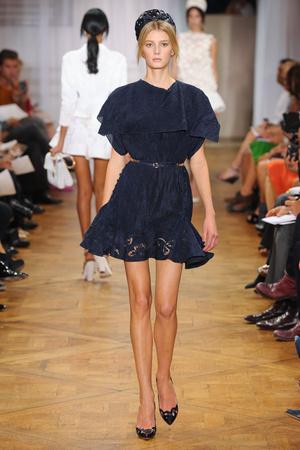 Показ Nina Ricci коллекции сезона Весна-лето 2012 года prêt-à-porter - www.elle.ru - Подиум - фото 306913