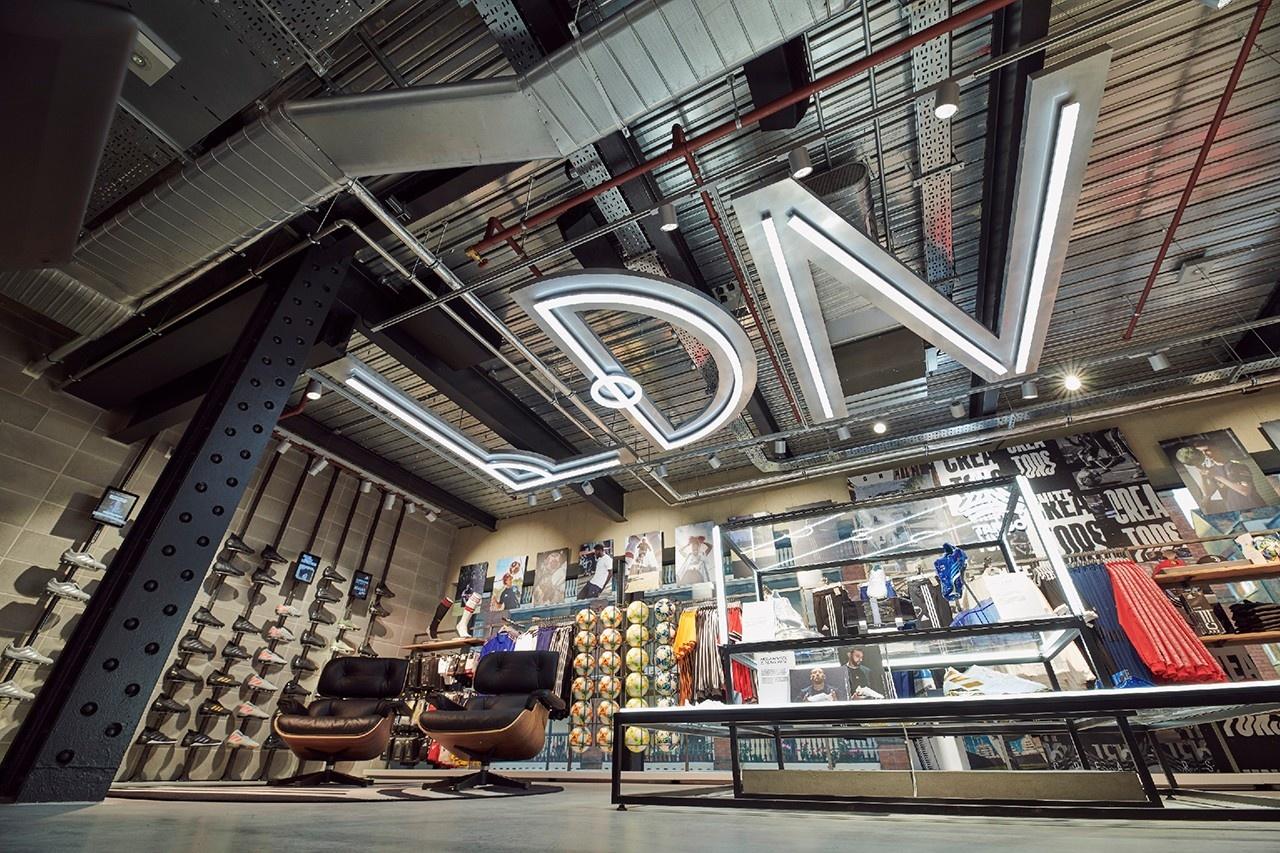 Новый флагман Adidas в Лондоне (галерея 9, фото 0)