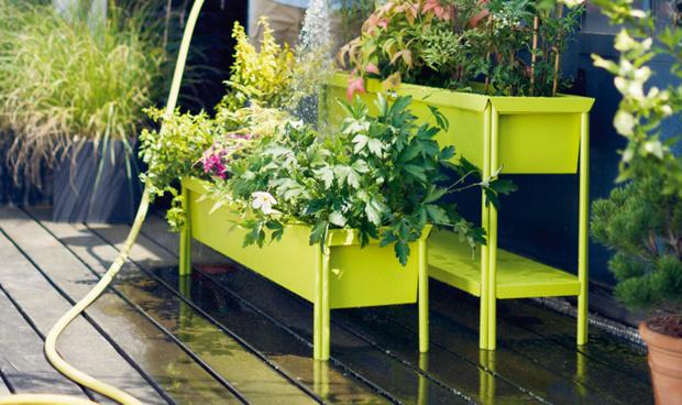 Кашпо и мебель для домашних растений (фото 13)