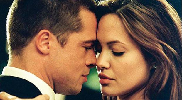 «Мистер и миссис Смит»: Анджелина Джоли и Брэд Питт